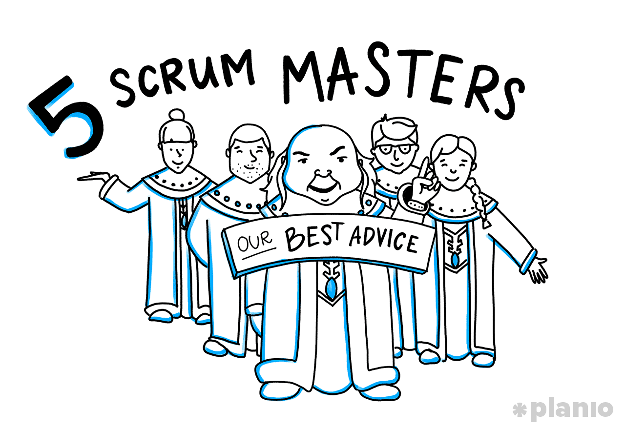 5 scrum masters share advice