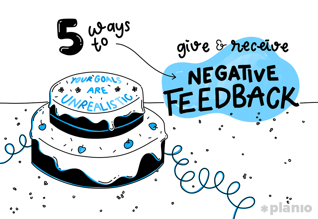 5 ways give receive negative feedback