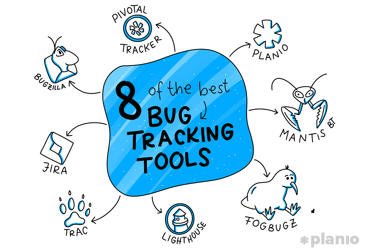 8 bug tracking tools