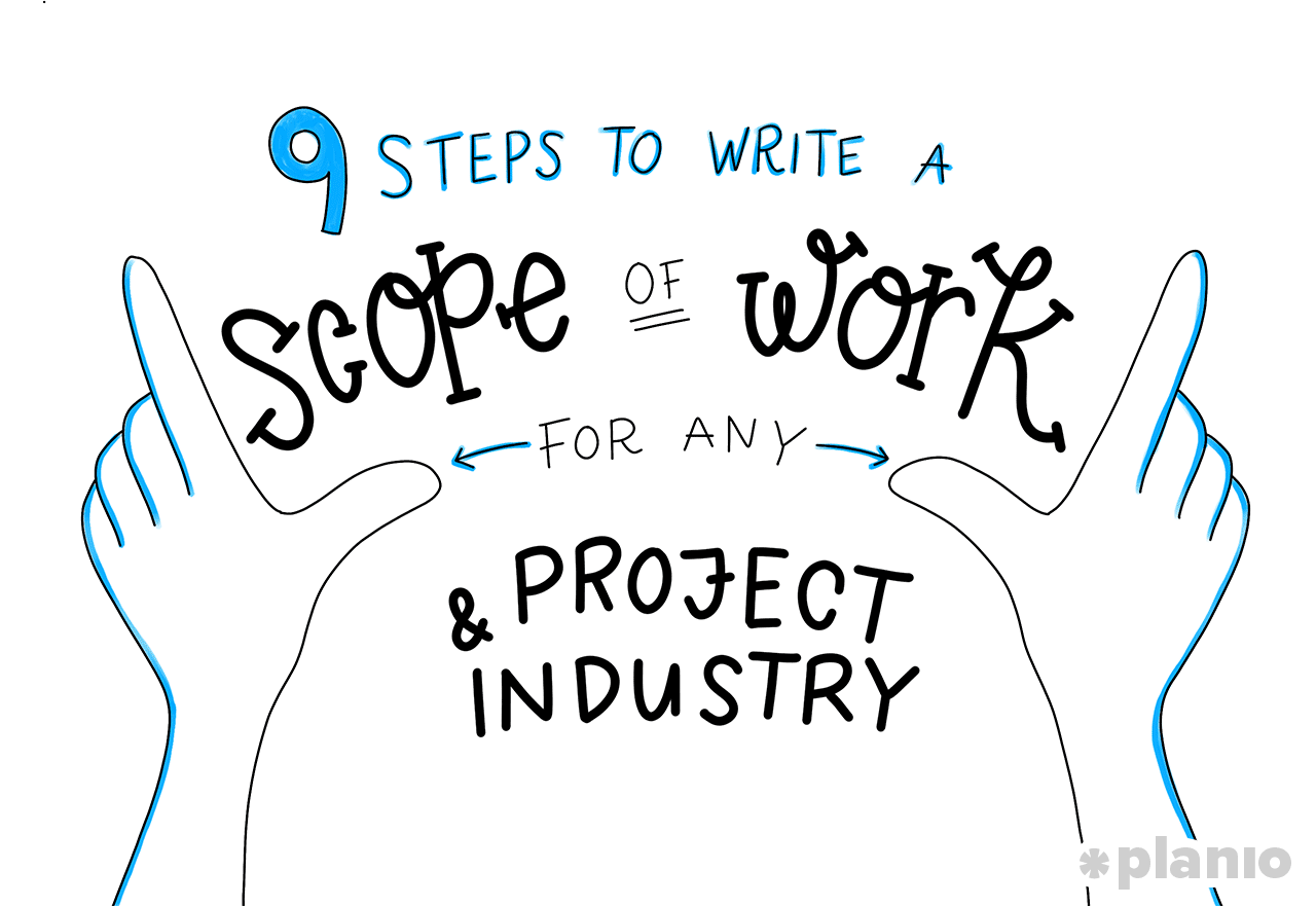 9 steps to write a scope of work