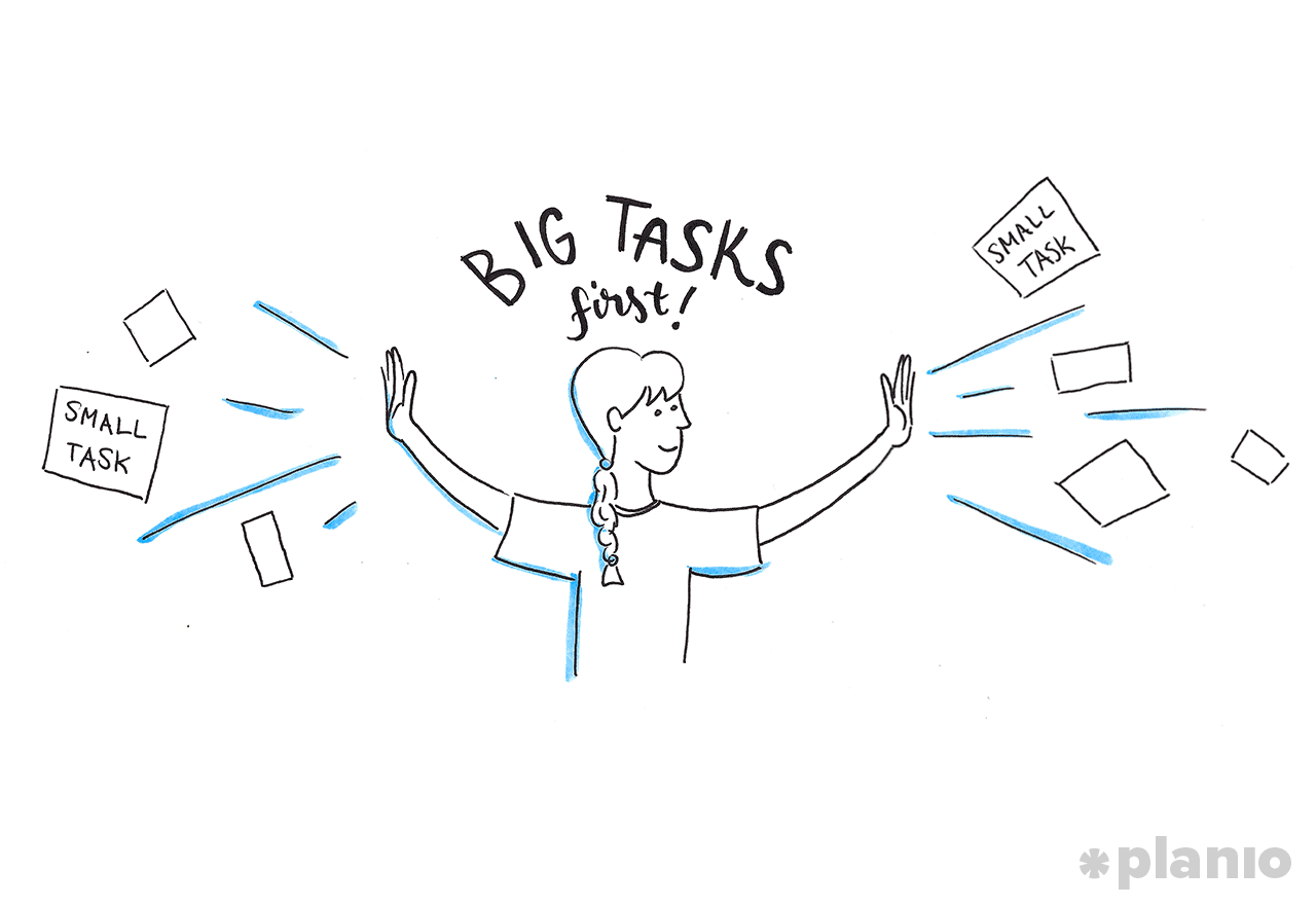 Big Tasks First