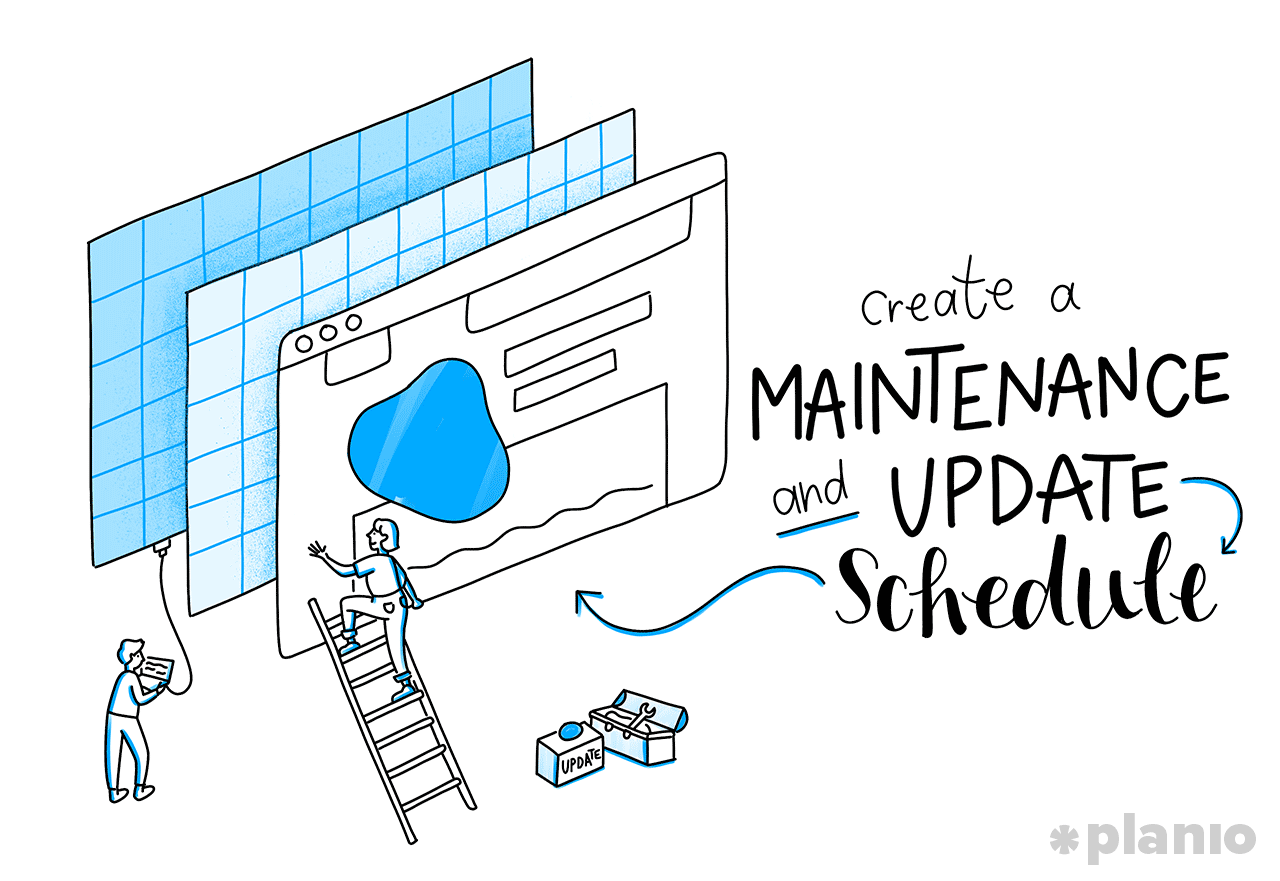 Create a Maintenance and Update Schedule