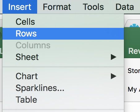 Excel Gantt Chart Screenshot Insert Rows