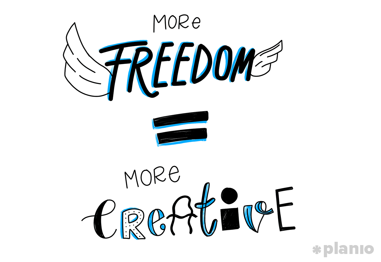 Freedom Makes You More Creative