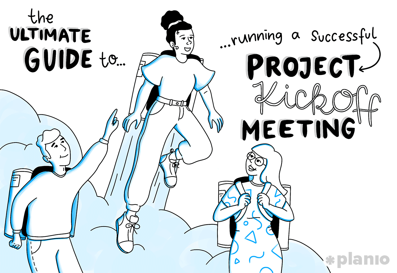 Guide running successful project kickoff meeting