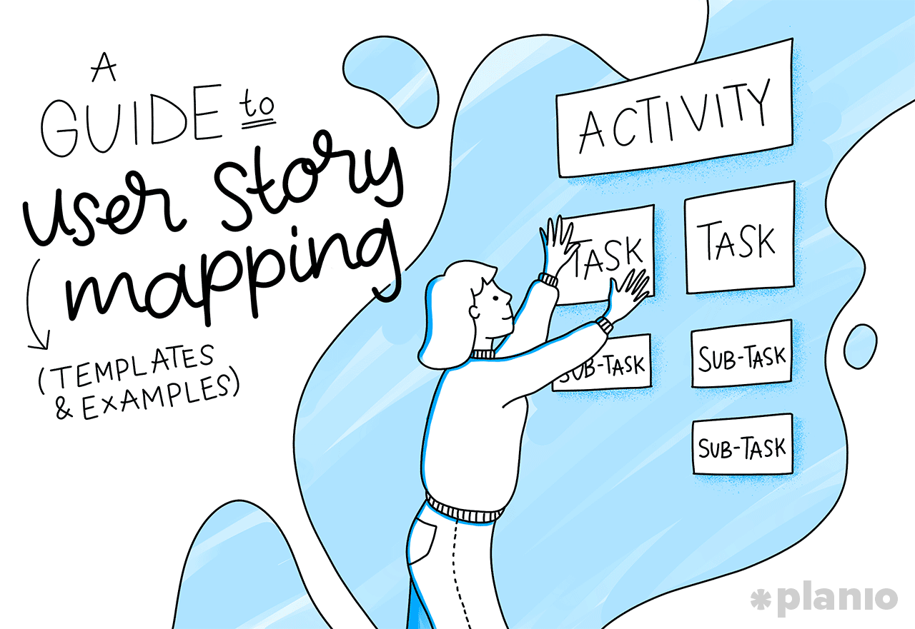 Guide user story mapping
