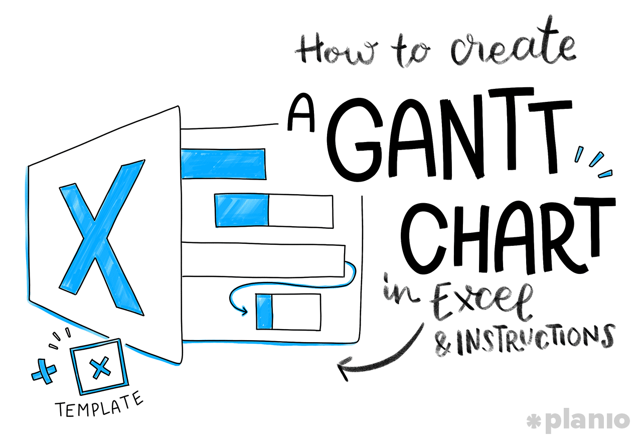 How to Create a Gantt Chart in Excel (Free Template) and