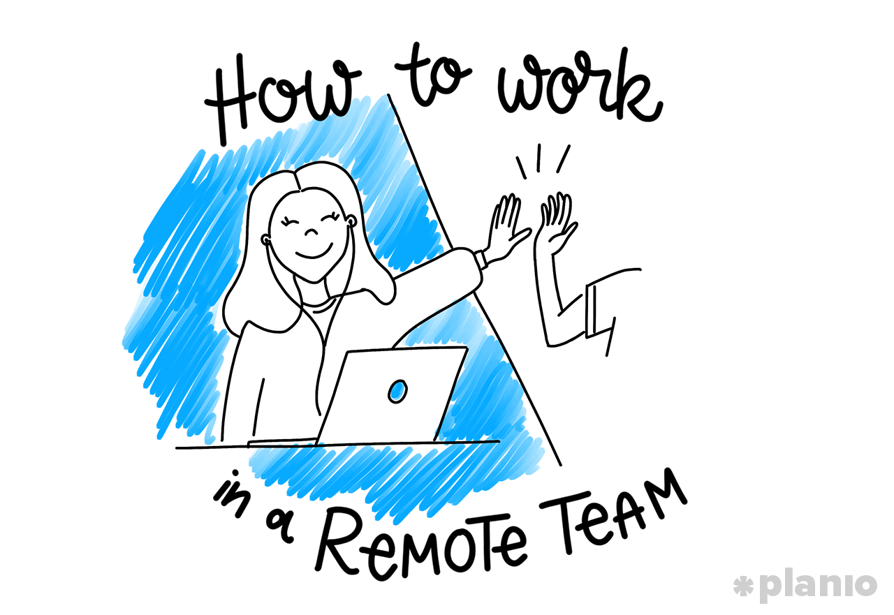 How to work in a remote team