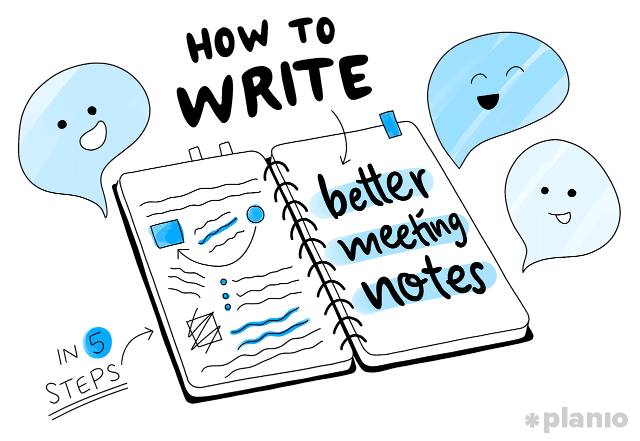 How to write better meeting notes