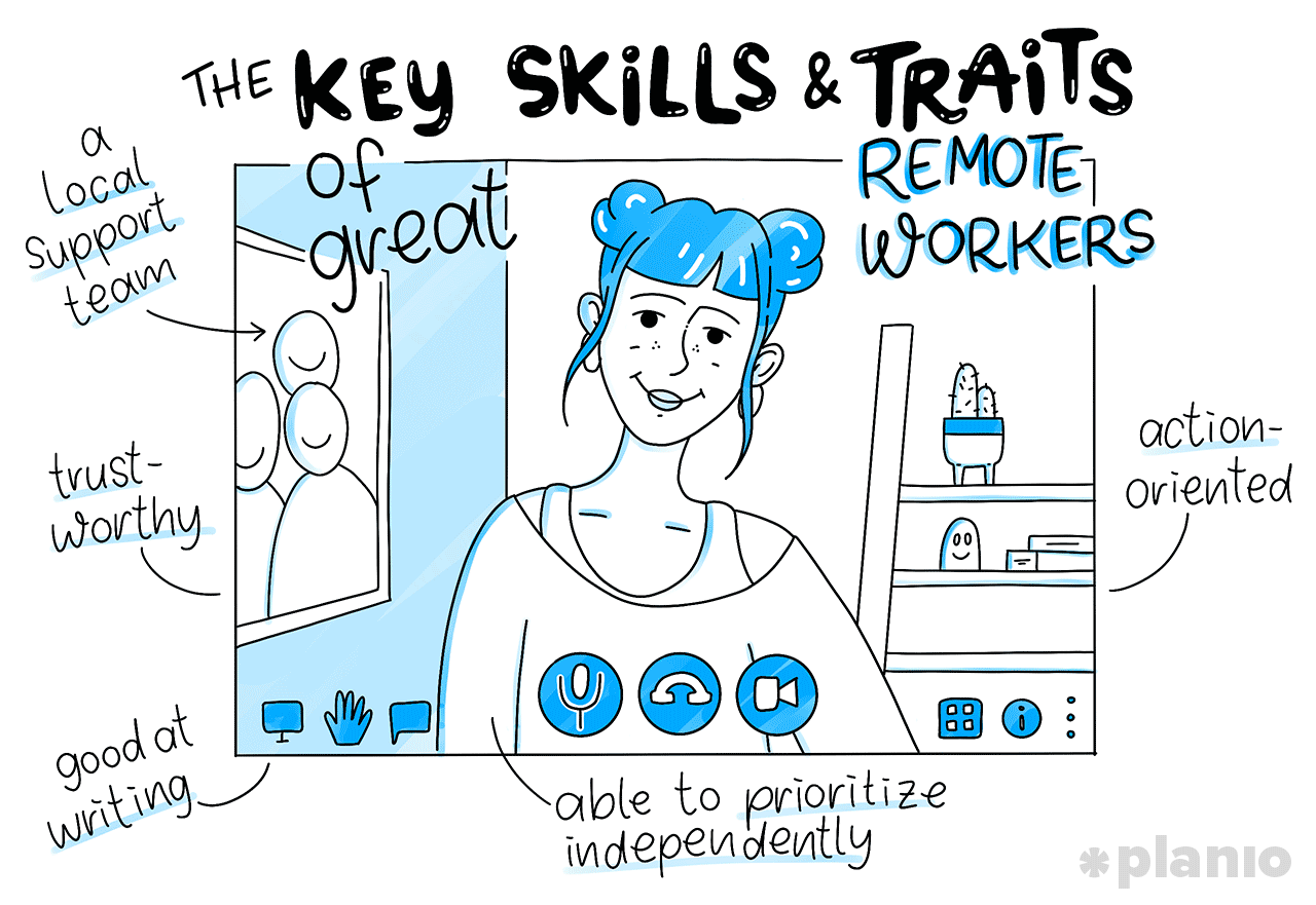 The key skills and traits of great remote workers