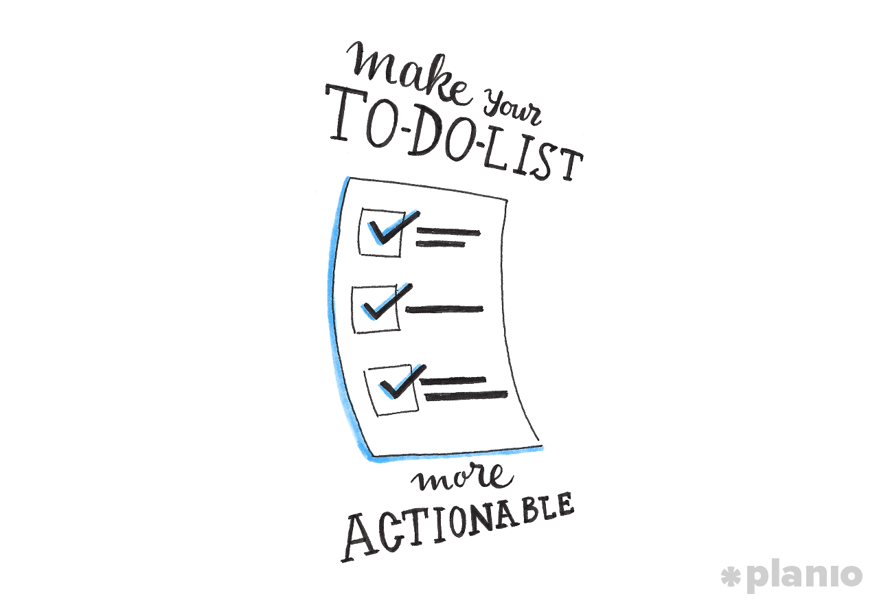 Make your todo list actionable