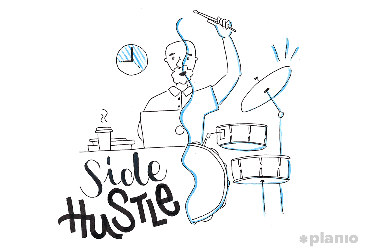 Making money with a side hustle