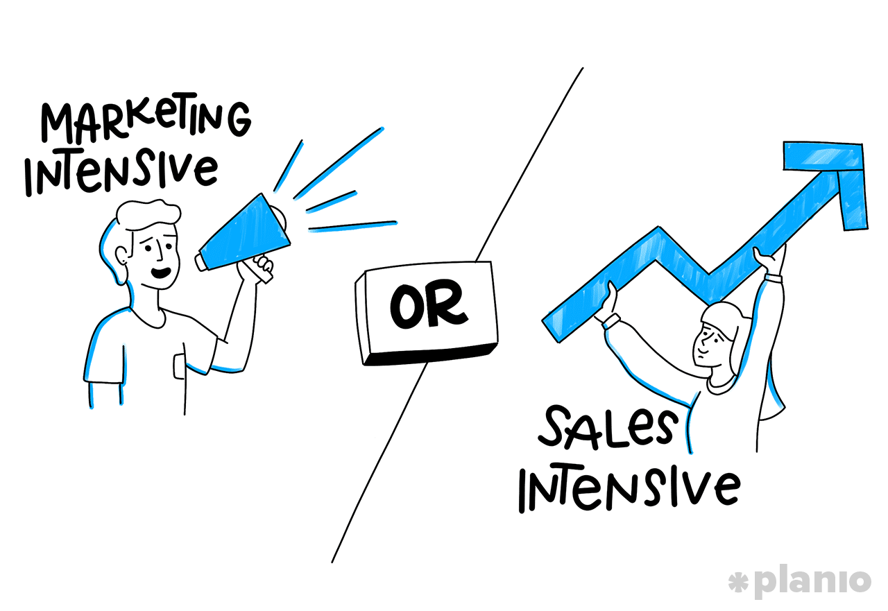 Marketing or Sales?