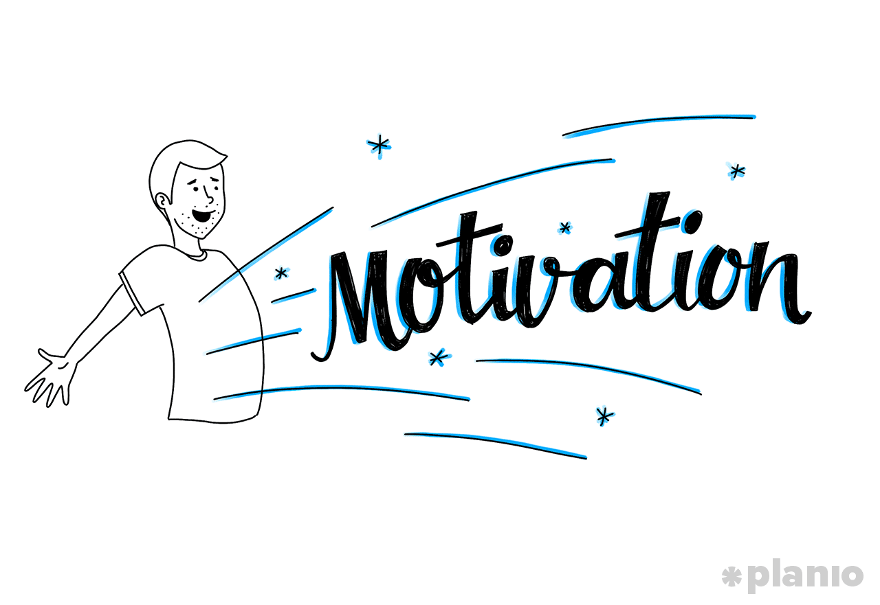 Motivationsschub