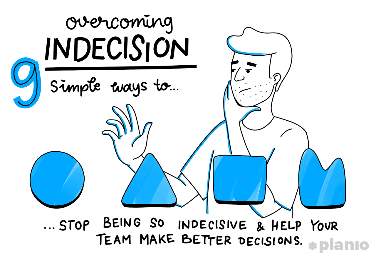 Stop being indecisive and overcome indecision
