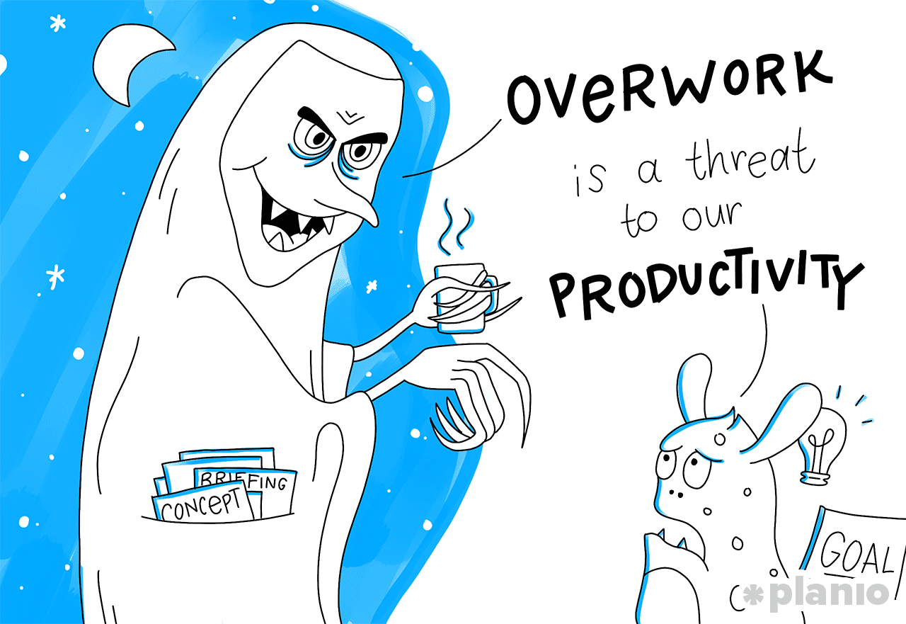 Overwork is a threat to our productivity