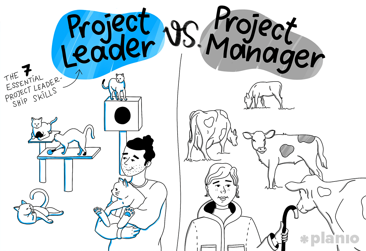 Project leader vs project manager