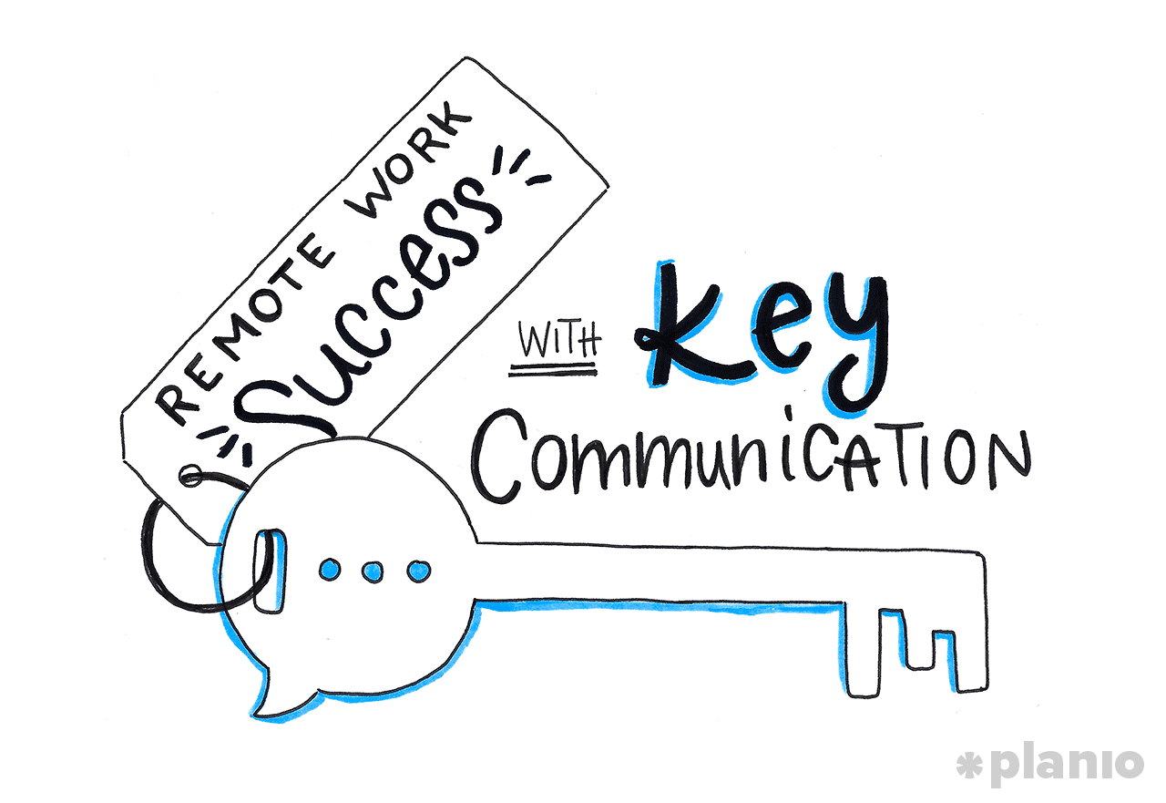 Remote Work Success with Key Communication