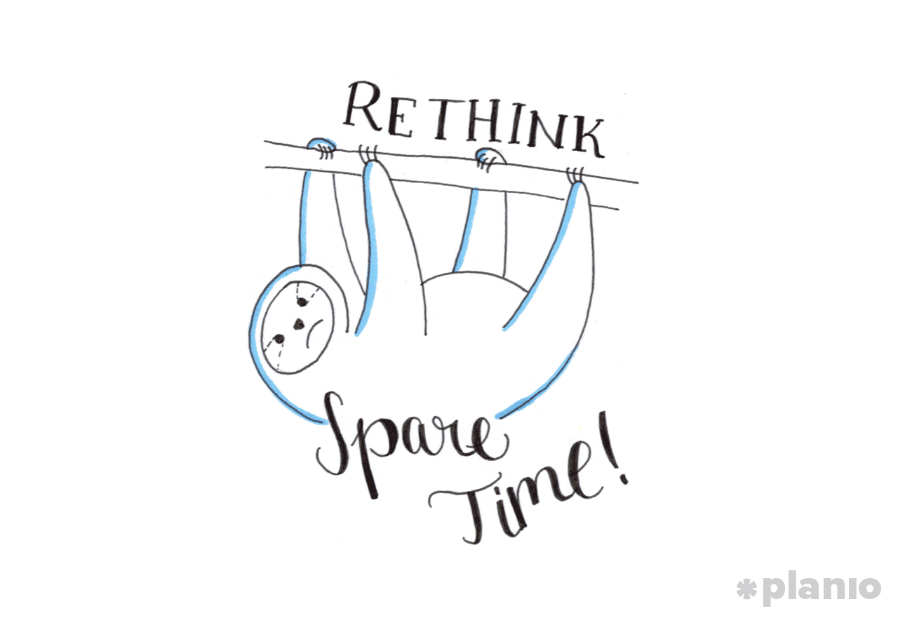 Rethink spare time