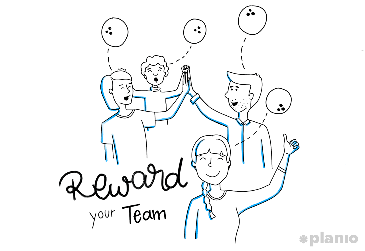 Reward your team