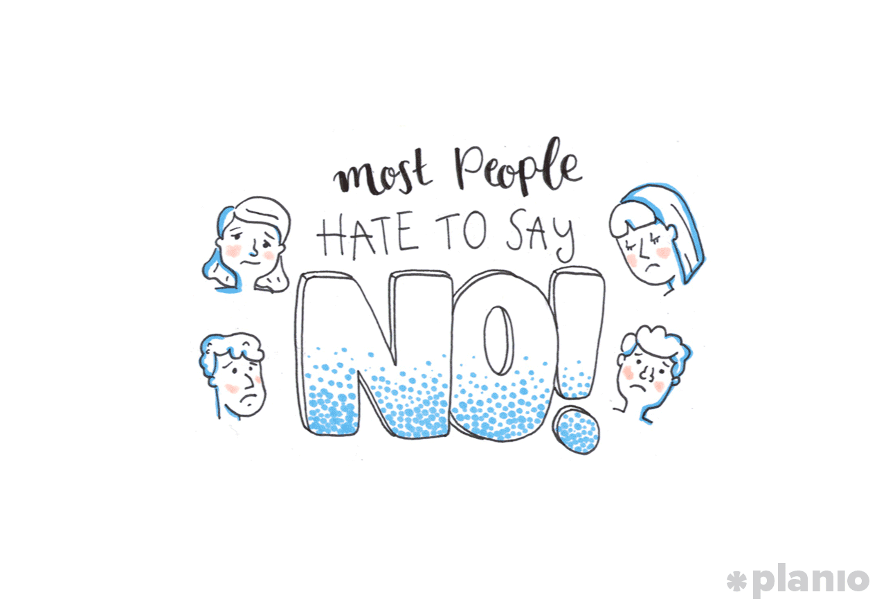 People don't like to say no