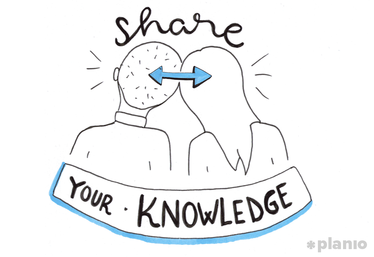 Share knowledge with others