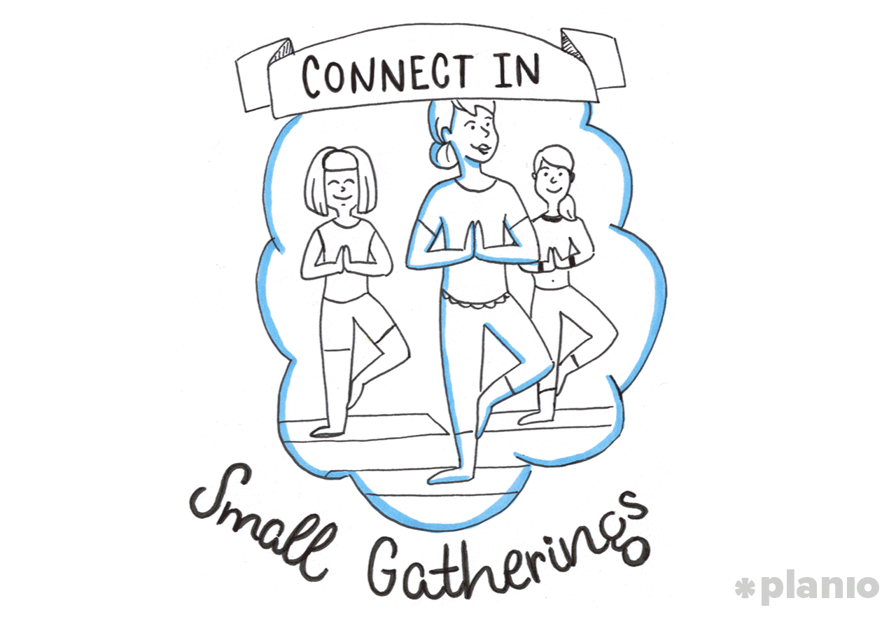 Small gatherings
