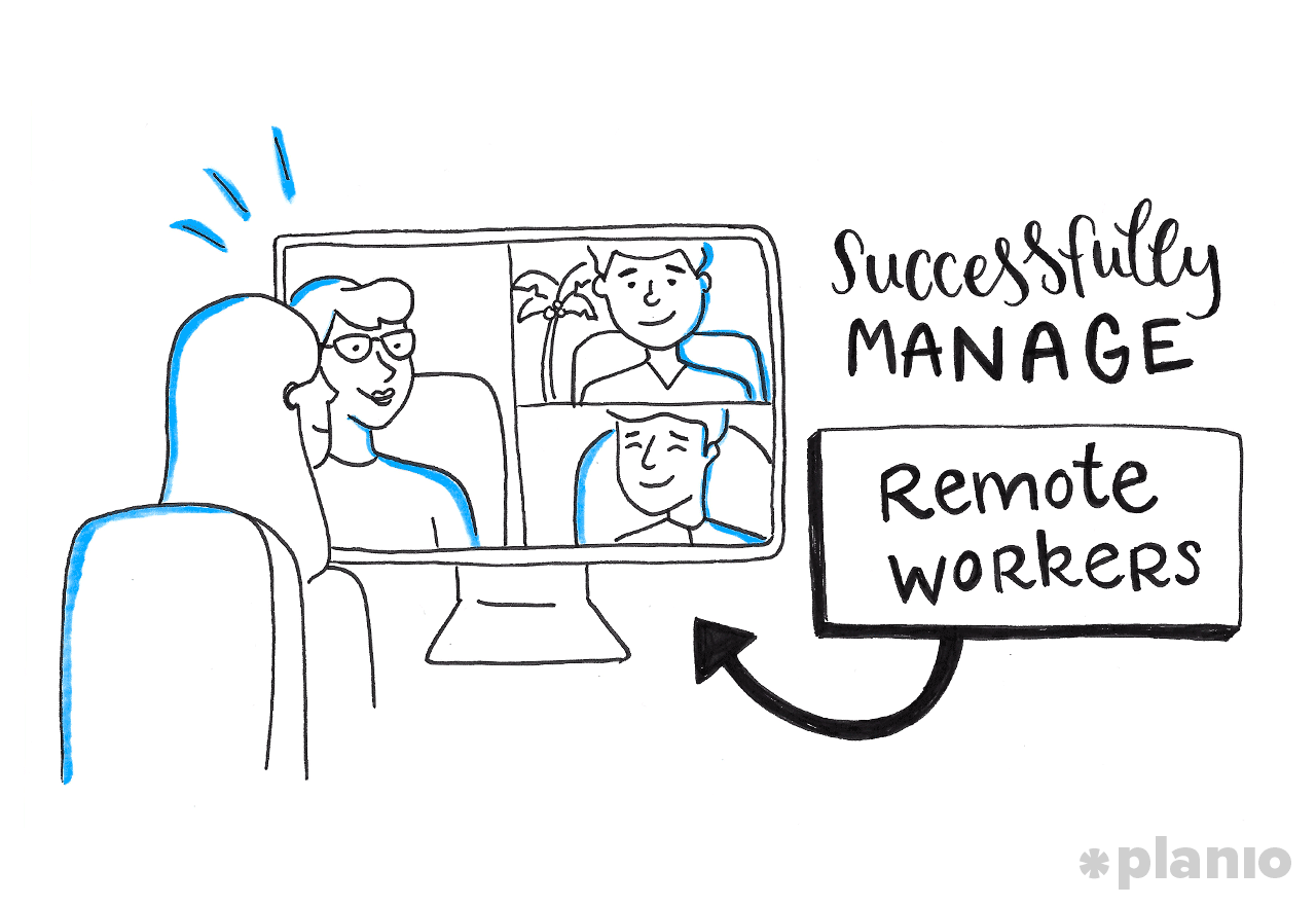 Successfully manage remote workers
