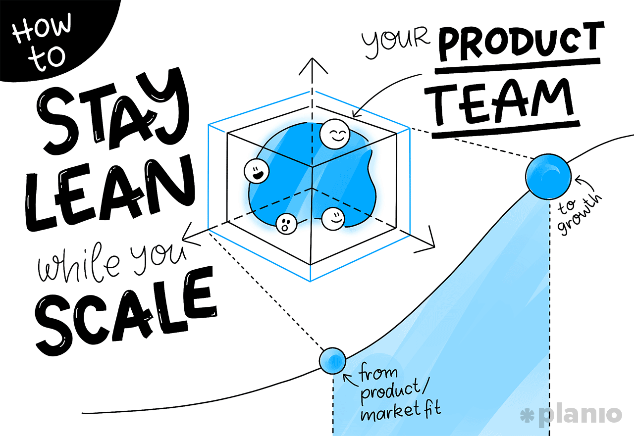 How to Stay Lean While you Scale Your Product Team From Product/Market Fit to Growth