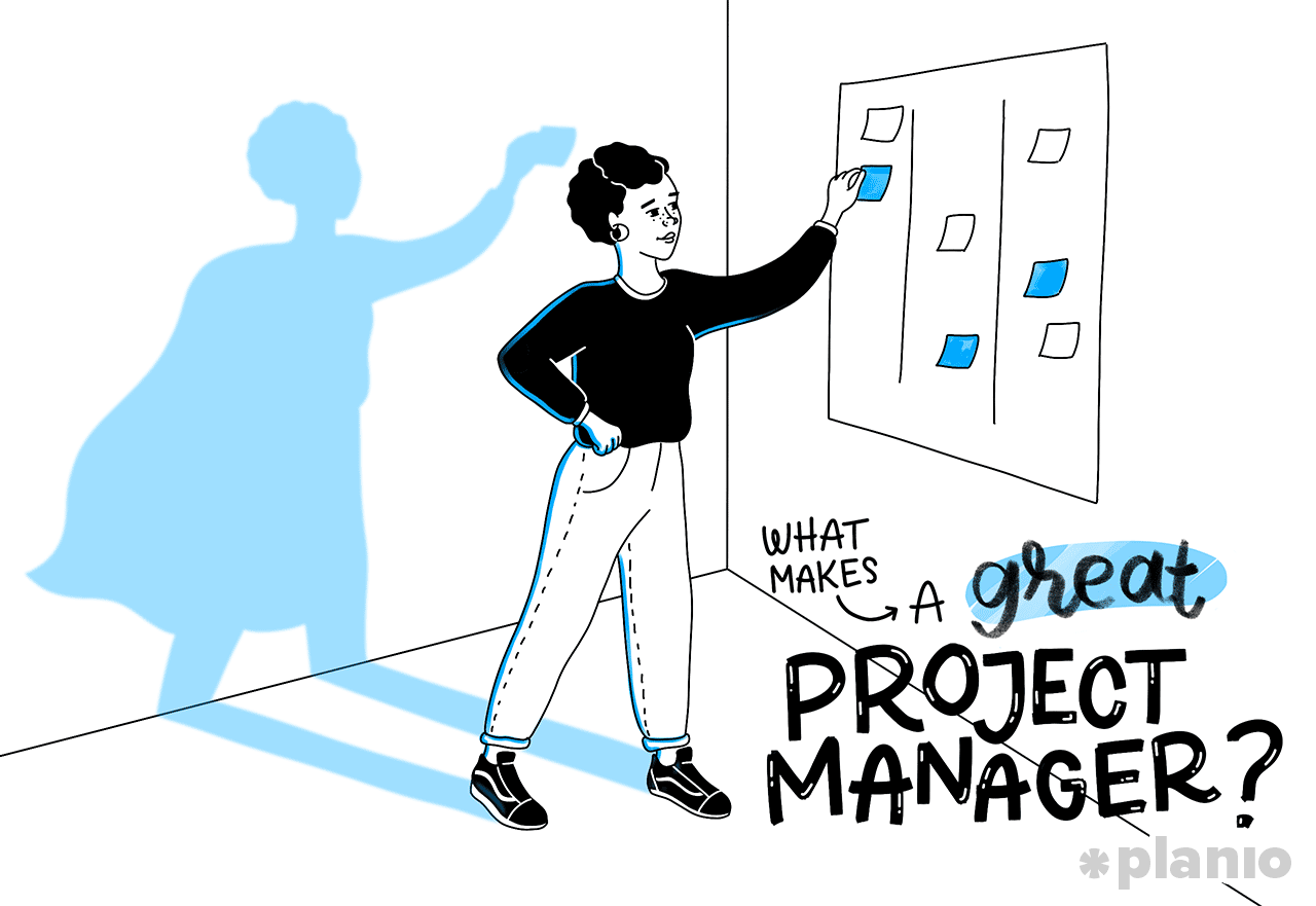 What makes a great project manager