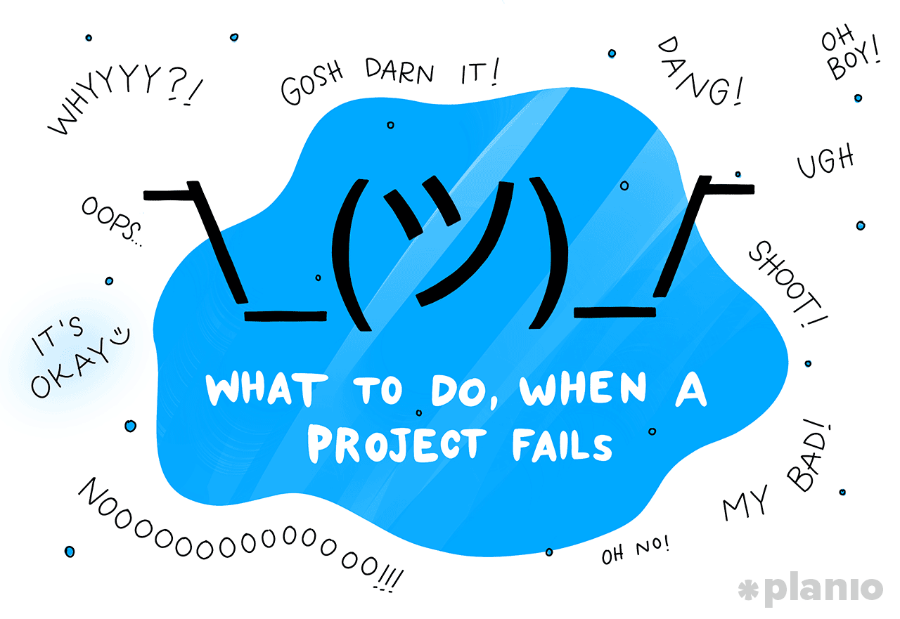 What to do when a project fails