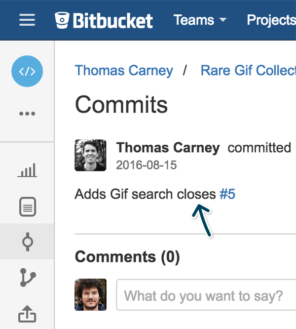 Open Planio Issues Right from Bitbucket