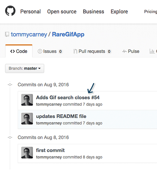 Keep your repositories in GitHub