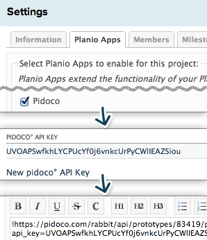 Configuring Pidoco and importing a prototype