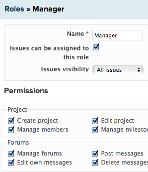Assigning permissions
